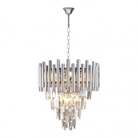 Żyrandol lampa sufitowa MADISON CHROME kryształ regulowany