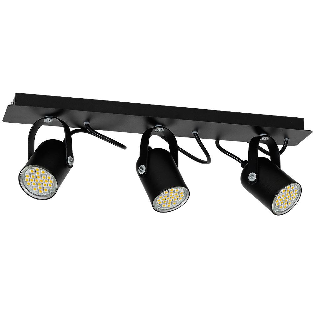 Lampa sufitowa PICO BLACK 3xGU10