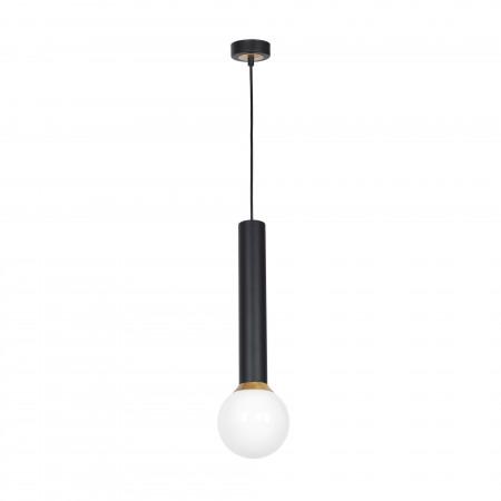 Lampa sufitowa wisząca AURIS BLACK I regulowana wysokość