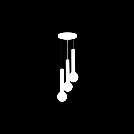 Lampa sufitowa wisząca AURIS WHITE III regulowana wysokość