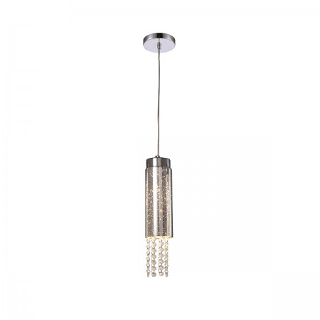 Lampa sufitowa wisząca MOONLIGHT kryształ regulowana