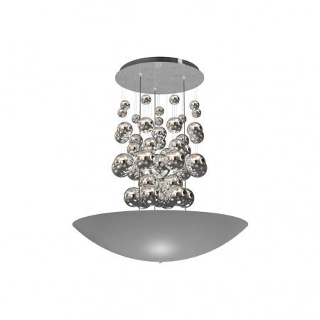 LAMPA WISZĄCA PERLA SILVER 42W LED