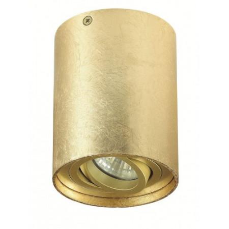 Plafon TUBA NERO 1L GOLD