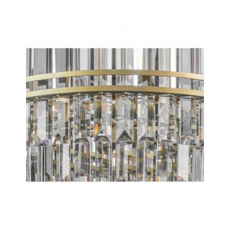 Żyrandol kryształowy wiszący GOLDEN XXL 70 cm salon glamour hampton złoty