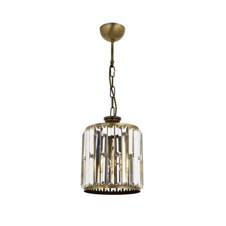 Lampa sufitowa wisząca kryształowa AVONNI MALAGA śr. 20 cm