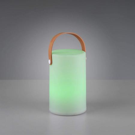 Lampa tarasowa GARDENIO RGB led świecąca na taras KOLORY design lampka stołowa na zewnątrz IP44