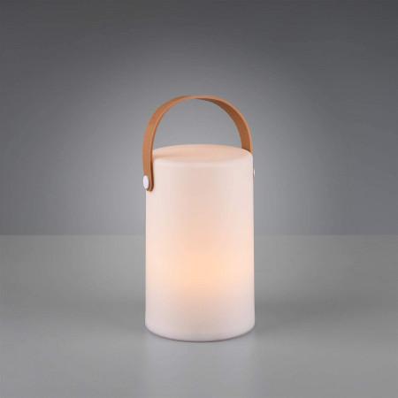 Lampa tarasowa GARDENIO RGB led świecąca przenośna KOLORY design lampka stołowa na zewnątrz IP44 prezent