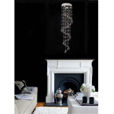 Lampa kryształowa 2XL 50/150 cm