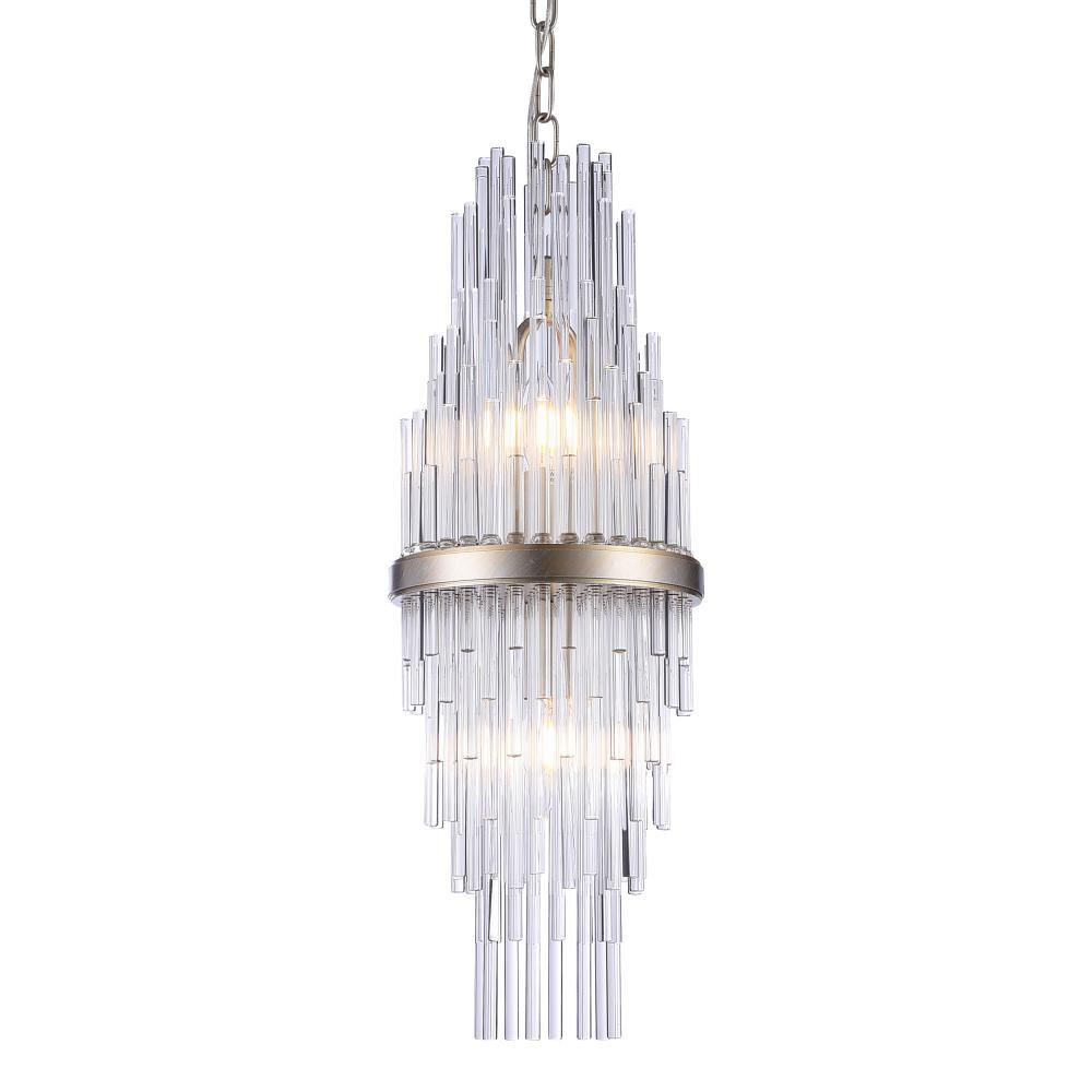 Lampa sufitowa wisząca REYKJAVIK II kolor szampański szkło