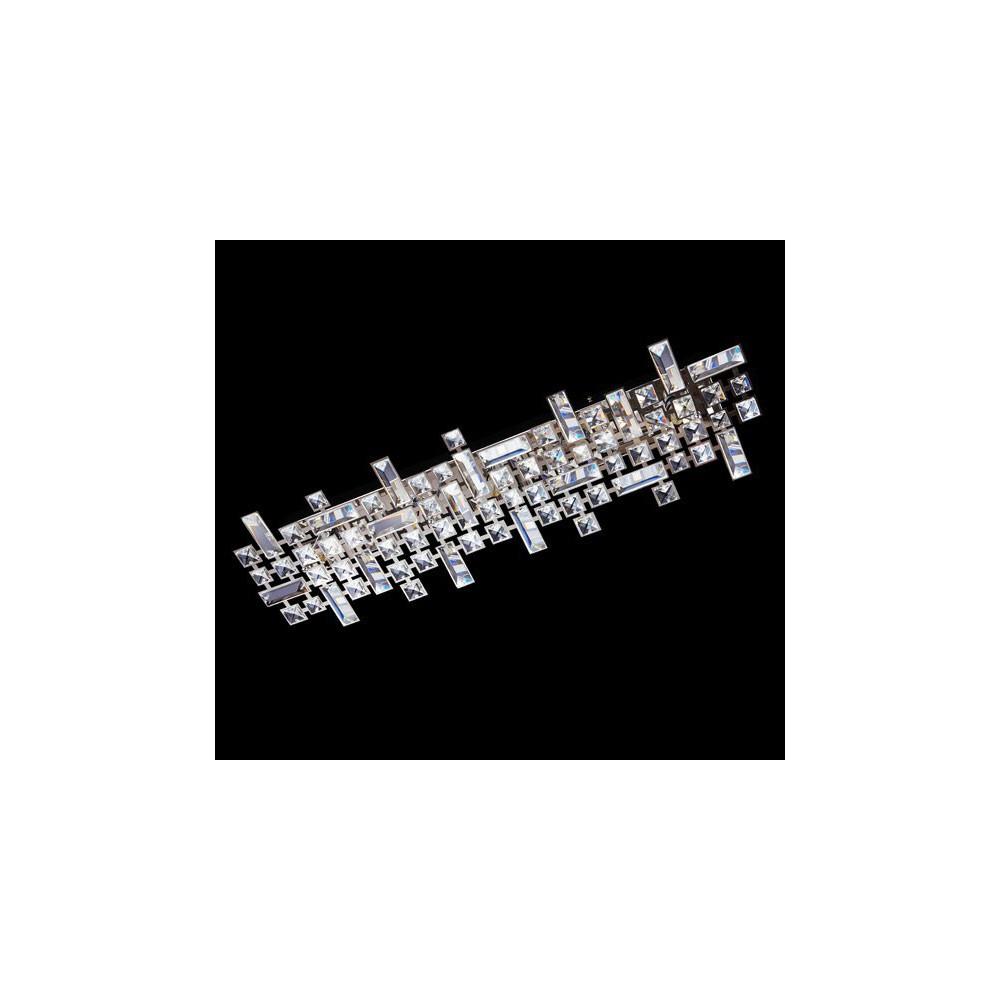 żyrandol kryształowy metal ASKON 48 cm wiszący do salonu kryształ