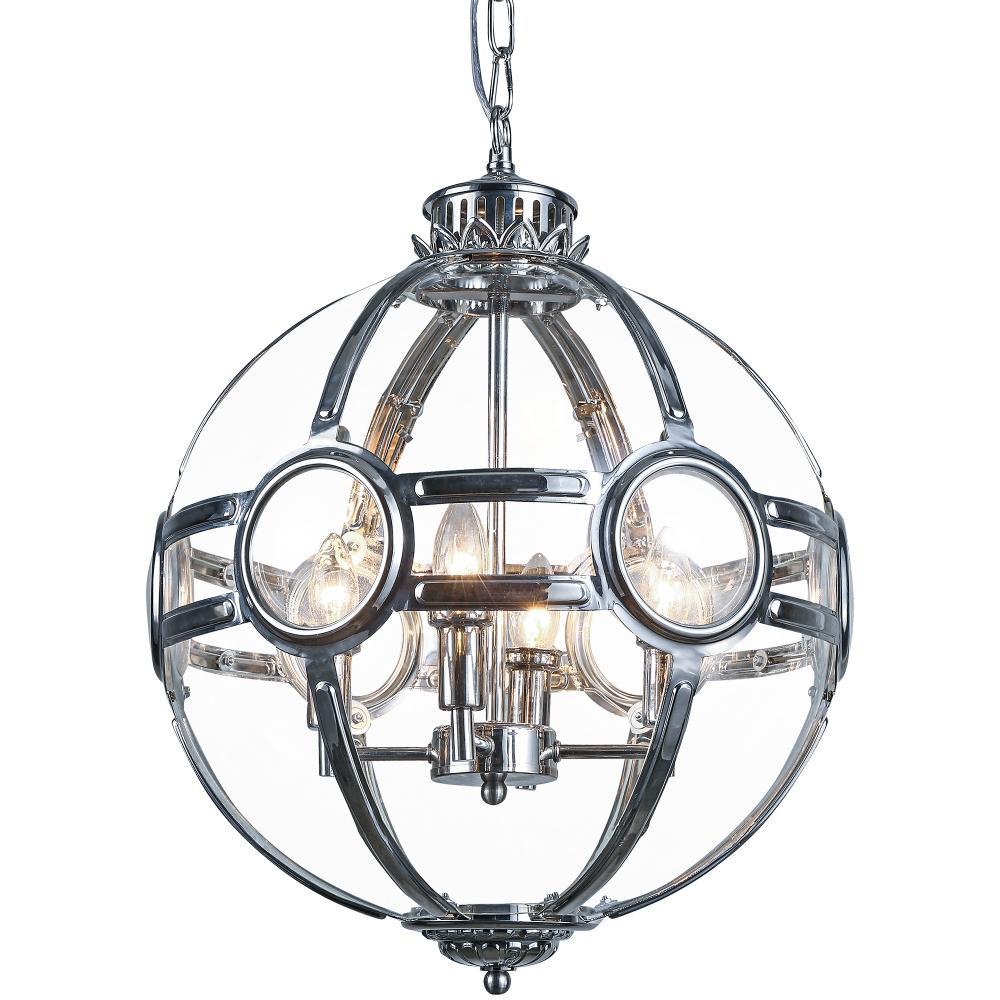 Lampa sufitowa wisząca AMSTERDAM I szkło metal