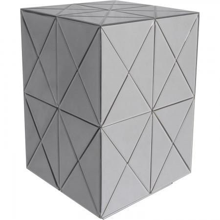 Stolik boczny lustrzany SOHO SH-ST1363 mini szafka nocna glamour design