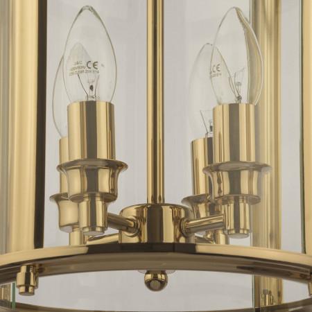 Lampa sufitowa wisząca NEW YORK II walec XXL złota