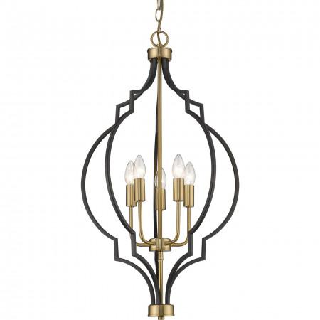 Lampa wisząca NASHVILLE P05186BK AU