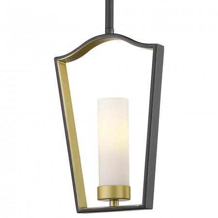Lampa sufitowa wisząca DUBLIN I brązowa złota marokańska