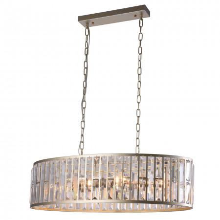 Lampa kryształowa sufitowa wisząca MOSCOW 78 cm III XXL kolor szampański kryształ