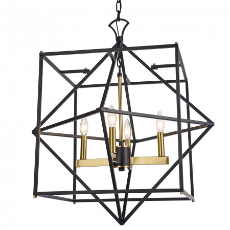 Lampa wisząca NASHVILLE P04247BK AU