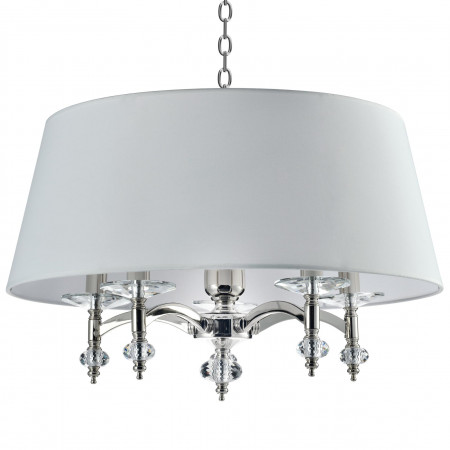 Żyrandol lampa sufitowa VERONA 60 cm kryształ hampton new york styl