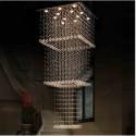 Lampa kryształowa 260 cm WRANOWSKI led DO SALONU HOLU 4XL kryształ