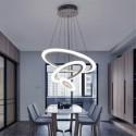 Lampa kryształowa STELLA 35 cm LED 2 TRÓJKATY regulowana długość