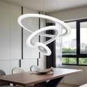 Lampa wisząca JONEX  30 cm żarówka E27 BIAŁA CZARNA regulowana długość