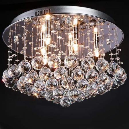 Żyrandol Kryształowy 45cm Crystal Home Lampa Kryształowa 45cm Trójwymiar 3D