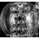 lampa sufitowa 45 cm PARYS wiszaca regulowana długość 3 żródła światła chrom