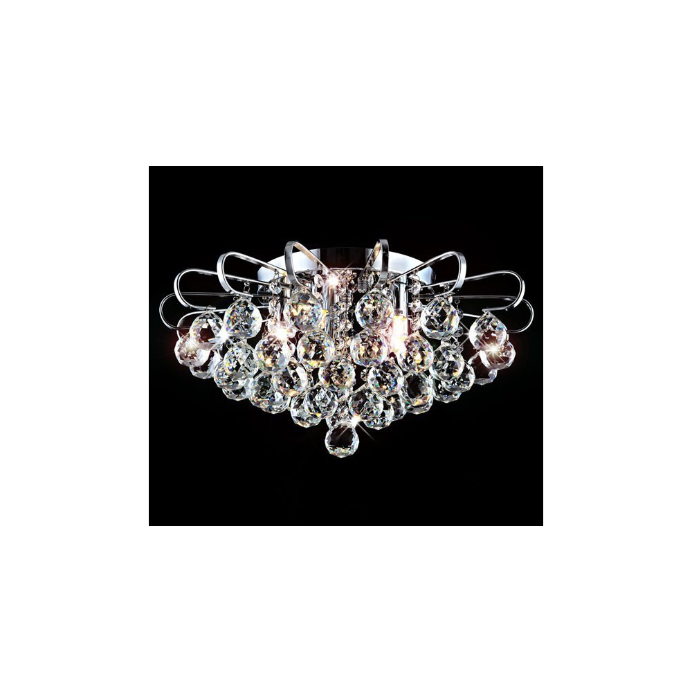 Żyrandol Kryształowy Samira 45cm 5x G9 Lampa Kryształ