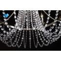 Kinkiet kryształowy kula BALL OKRĄGŁY żarówka CHROM kryształowa lampa ścienna PROMOCJA