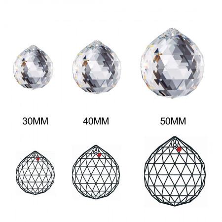 Kryształowa Kula 3cm 30mm Prawdziwy Kryształ W Woreczku Prezent