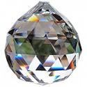 OGROMNA lampa KRYSZTAŁOWA XXL MOLER 45 80 CM kula BALL CHROM żyrandol okragły kryształowy 6XGU10