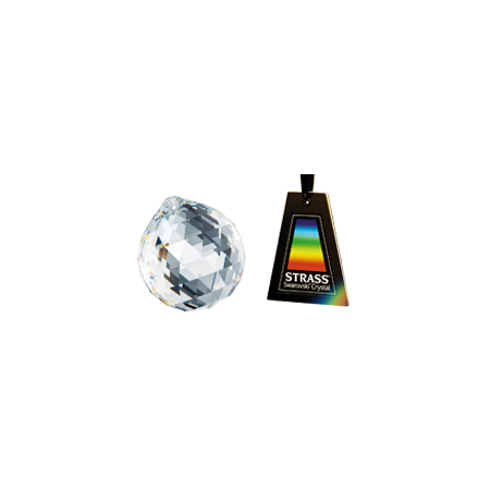 Lampa Kryształowa LUNA LED 60/40cm Oryginalny Kryształ plafon kwadratowy