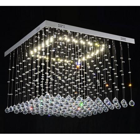 copy of Lampa Kryształowa Luna 60/60cm Oryginalny Kryształ LED