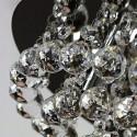 Lampa kryształowa MARIA 30 cm prawdziwy kryształ 2xE14 żyrandol kryształowy