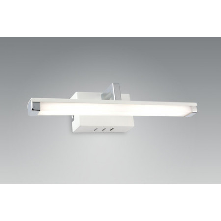 Kinkiet MIRROR I LED biały nowoczesny 28 cm