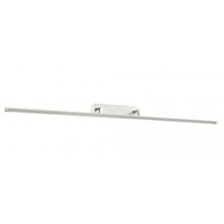 Kinkiet MIRROR IV LED biały nowoczesny 120 cm