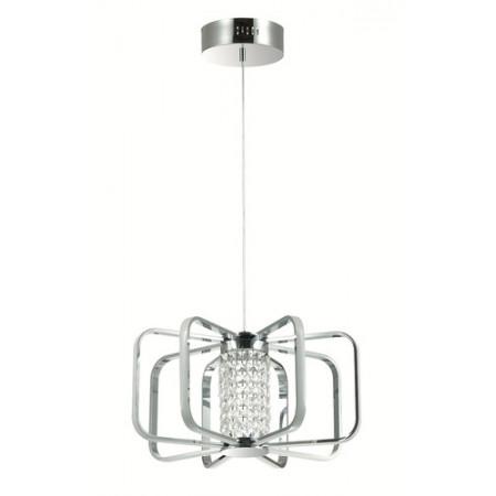 Lampa sufitowa wisząca POSSI LED kryształ nowoczesna loft 120 cm