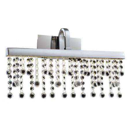 Kinkiet MORENO LED kryształ srebrny chrom