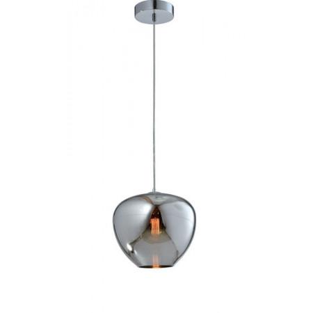 Lampa sufitowa wisząca AURA pojedyncza120 cm chrom