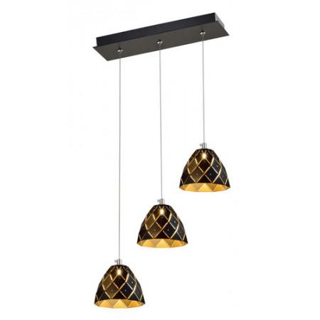 Lampa sufitowa wisząca DORI LED 120 cm potrójna kwiat lotosu kaskada