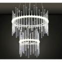 Żyrandol kryształowy KALO 35 cm lampa kryształowa SOPLE