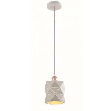 Lampa sufitowa wisząca NEMO 120 cm biała pojedyncza