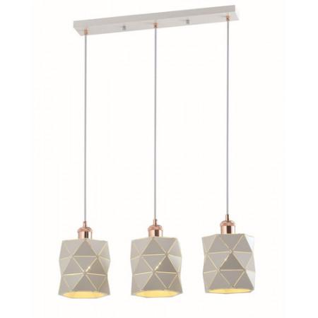 Lampa sufitowa wisząca NEMO I 120 cm biała potrójna