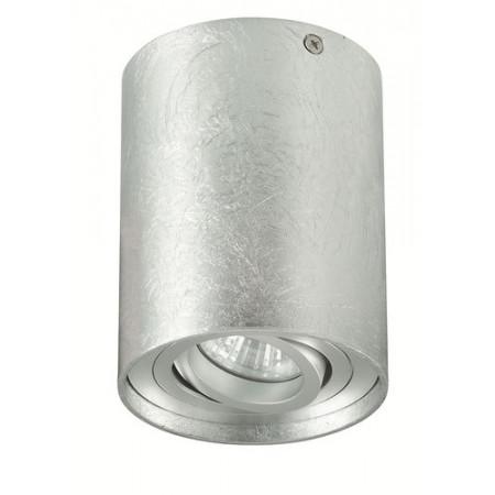 Reflektor spot oprawa TUBA NERO 1 srebrny pojedynczy