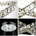 Lampa kryształowa mini RON 33 cm glamour styl 1xE14