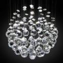 POLIA Kryształowy żyrandol sufitowy LED 5-ramienny 54cm 5xG9
