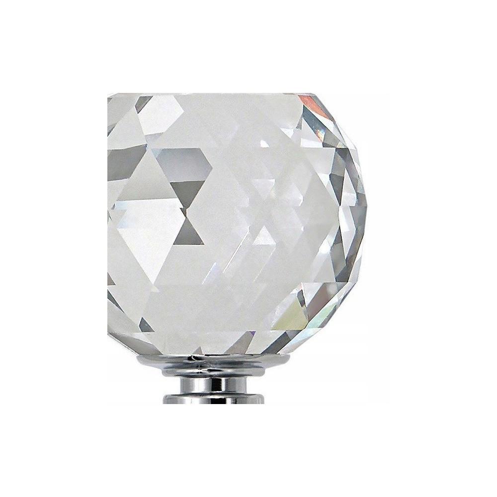 Lampa kryształowa OTYLIA 120 cm prawdziwy kryształ serpentyna 5xGU10