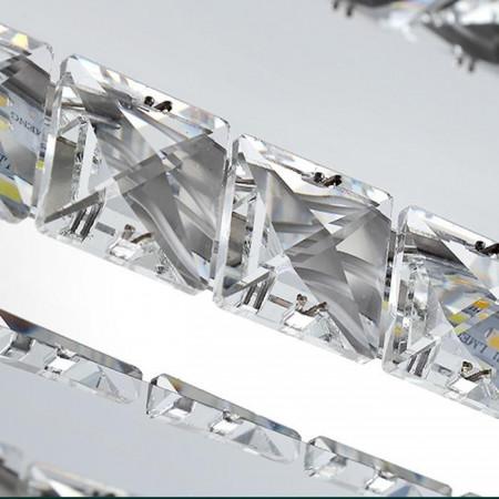 Kryształowy Kinkiet nad Lustro Łazienkowy 40cm 10W Kryształ