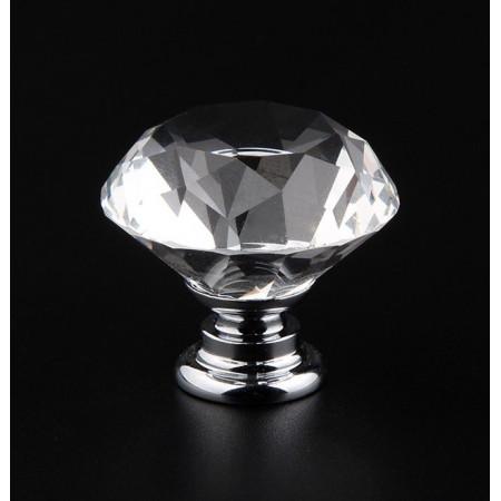 Żyrandol kryształowy REAL plafon 47 cm Prawdziwy kryształ