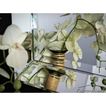 Lustro Kryształowe Szlifowane 13LM SLS 60x90cm Lustrzane Boki Ramy